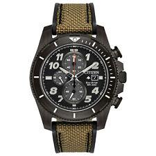 New Citizen Eco-Drive Promaster Tough Series Nylon Strap Men's Watch CA0727-04E