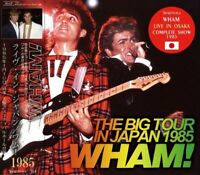 New WHAM! THE BIG TOUR IN JAPAN 1985 【CD】Japanese free shipping