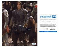 "Ben Barnes ""The Chronicles of Narnia: Prince Caspian"" SIGNED 8x10 Photo B ACOA"
