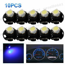10x Blue T3 Neo Wedge LED Bulb Dash Control Instrument Cluster Panel Lamp Light