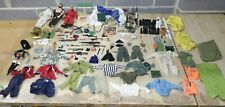 Vintage Action Man Large Job Lot of 3 Figures, Clothes, Weapons, Accessories-254