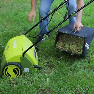 Sun Joe AJ801E Electric Scarifier & Lawn Dethatcher