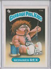 1986 GARBAGE PAIL KIDS #174B ''REPAIRED REX''