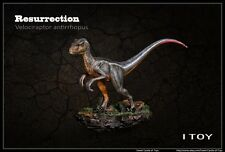 1/35 IToy Velociraptor Antirrhopus Painted Resin Dinosaur Resurrection Model