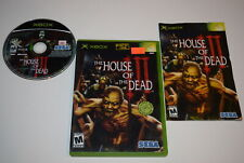 House of the Dead III Microsoft Xbox Video Game Complete