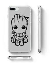 Baby Groot Inspired phone case Guardians of the Galaxy Fan Art rubber silicone