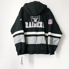 vintage apex one los angeles raiders jacket coat parka mens size large NWT 90s