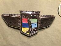 Studebaker Emblem X0-519 Has Some Pitting
