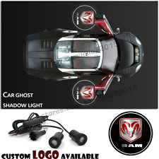Car Door Logo Welcome Ghost Shadow Projector Laser Courtesy Light For Dodge Ram