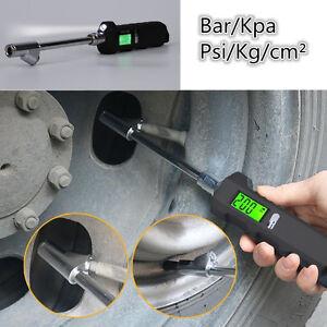 Universal 5-150PSI Digital SUV Car Tire Pressure Gauge Tool Bar/Kpa/Psi/Kg/cm²