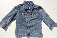 EUC - RRP $149- Girls Stunning Levi's Strauss Signature Denim Indigo Jean Jacket
