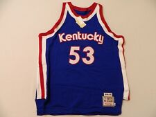 M113 MITCHELL & NESS Authentic 1974-75 Kentucky Artis Gilmore Jersey MEN'S 56