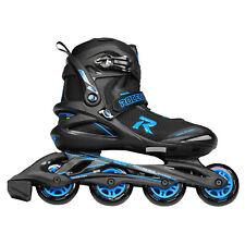 Roces Icon Men's Inline Skates - Black, Cyan (NEW)