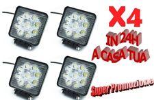 4 X 27W WATT LED LUCE FARO 12V  LAMPADA DA LAVORO FARETTO AUTO BARCA CAMION SUV