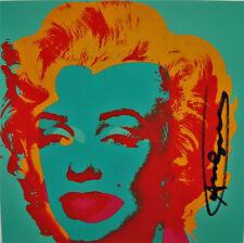 "(576) Andy Warhol, HANDSIGNIERT, ""Marilyn"""