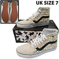 Vans x Disney SK8-Hi Reissue 101 Dalmations Shoes Trainers Womens 7 Hi Top Laced