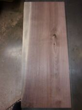 """1 Pc Walnut Lumber Wood Kiln Dried Board 22 3/8""""X 9 3/8""""X 15/16"""" Lot 530R Flat"""