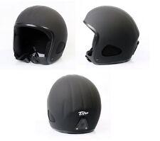Titan Helm schwarz-matt von Scorp Jethelm Chopperhelm in Größen XS - XXXL