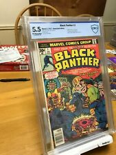 Black Panther #1 GRADED 5.5  Marvel 1977 !! JACK KIRBY RARE COMIC NOT CGC