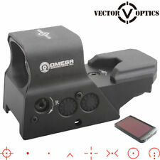 Vector Optics Omega Tactical 8 Reticle Red/Green Dot Sight with QD Mount EO Tech