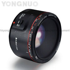 Yongnuo YN50MM F1.8 II AF/MF 0.35M Focus Distance Standard Prime Lens for Canon