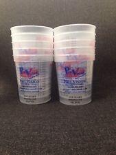 Plastic Paint Mixing Cups Quart Size with Measurements (10/pk)