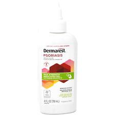 Dermarest Psoriasis Max Strength Medicated Gel, Salicylic Acid 3%, 4 Ounces