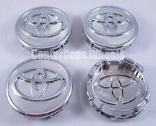 "SET of 2006-2019 Toyota Corolla, Yaris, and Prius 57mm 2.25"" Chrome Center Caps"