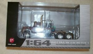 1:64 First Gear Mack R with Sleeper. Same scale as DCP.