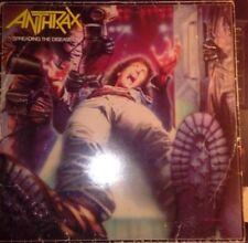 """☠ ANTHRAX """"SPEEDING THE DESEASE"""" LP VINILO (1986  ARIOLA) EX/VG"""