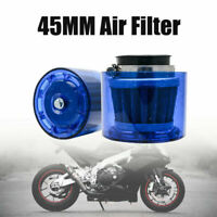 45mm Universal Finish Car Air Filter Pitbik Induction Kit High Power Sports Mesh