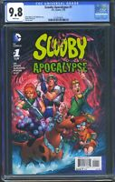 Scooby Apocalypse 1 (DC) CGC 9.8 White Pages