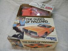 1/25 1969 ORIGINAL ISSUE DUKES OF HAZZARD DODGE CHARGER MPC ORANGE MODEL KIT-MIB