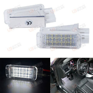 VW Scirocco MK3 - LED Footwell Units - Bright Xenon SMD Canbus - UK Stock