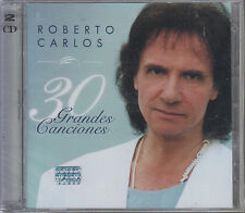 CD - Roberto Carlos NEW 30 Grandes Canciones 2 CD - FAST SHIPPING !