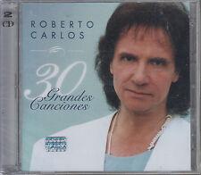 CD - Roberto Carlos NEW 30 Grandes Canciones 2 CD - FAST SHIPPING !