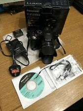Panasonic Fz 200 Lumix Digital Camara, 8Gb Sandisk Memory Card
