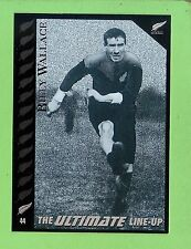 1995 NEW ZEALAND  ALL BLACKS RUGBY UNION CARD  #44 BILLY  WALLACE