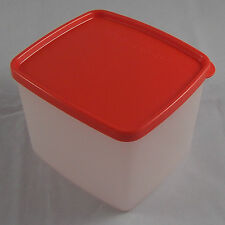 Tupperware G 14 gefrierbehälter gefrierdose 800 ML blanc/rouge rouge-orange NEUF