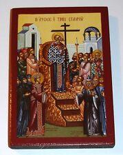 *** Kreuzerhöhung Ikone Icon Ikona Ikonen orthodox Icone exaltation de la Croix