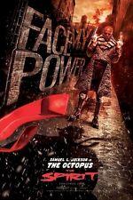 THE SPIRIT MOVIE POSTER ~ FACE MY POWER 24x36 Frank Miller Samuel L Jackson