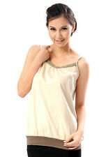 OurSure Maternity Cotton Camisole Anti Radiation Protection Beige 8920138