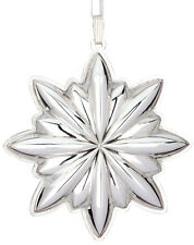 NEW 2012 Lunt 18th Annual Sterling Silver Christmas Ornament Pendant Medallion