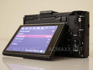 ACMAXX 3.0 HARD LCD SCREEN ARMOR PROTECTOR Sony Cybershot RX100-II RX100M2 Mark2