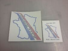 Trans FRANCE race - with TFR decal - Herbie goes to Monte Carlo - VW Love Bug