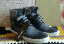 Designer Antony Morato Men's Hi-Top Sneaker Trainer Casual High Skater Black New