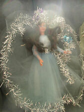 LARGE 1970s CHRISTMAS TREE FAIRY ANGEL