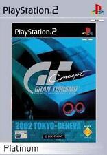 Gran Turismo Concept 2002 Tokyo-Geneva PS2 Versione Platinum