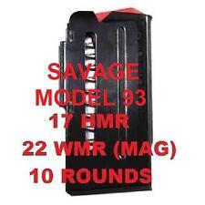 Savage Magazine Fits Model 93 17 HMR & 22 MAG 10 Shot 90010 New Savage Factory M