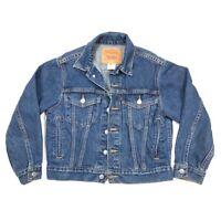 Vintage 1989 Levis 57511 Women's Trucker Jean Jacket Small